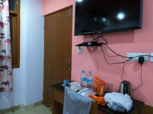 the room with TV