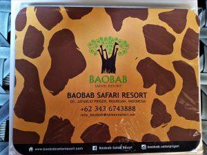 contact number of Baobab Safari Resort Prigen