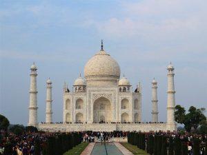 Taj Mahal in Agra district India