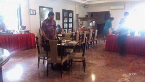 Restaurant of Merdeka Hotel Kediri East Java Indonesia