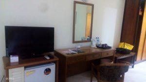 The room of Merdeka Hotel Kediri