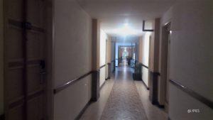 The hallway of Merdeka Hotel Kediri