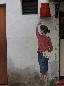 Iconic Murals in George Town Penang