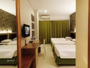 Triple room at Pohon Inn Hotel Batu East Java Indonesia