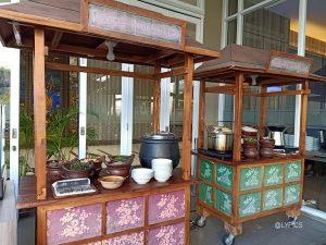 The breakfast at Aston Hotel Banyuwangi East Java Indonesia