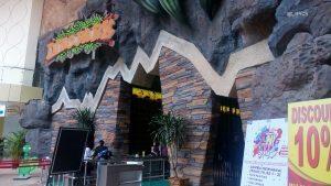 entrance of Dino Park Jatim Park 3 Batu