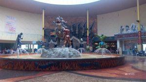 the hall of Dino Park at Jatim Park 3 Indonesia