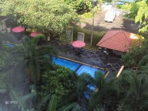 View from room at Novotel Solo Hotel Indonesia
