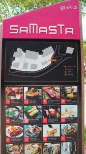 list of restaurant at Samasta Jimbaran Bali