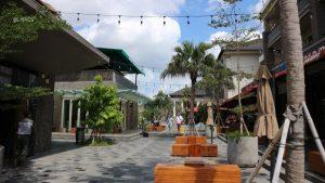 Open Air Mall and Dining Area at Samasta Bali