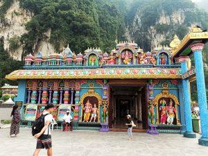 adoration rooms at Batu Caves Temple in Selangor Malaysia