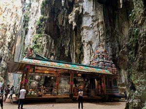 inside the main temple of Batu Caves Temple