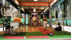 inside the main temple of Batu Caves Temple in Selangor Malaysia