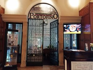 Portofino Italian Restaurant at Shangri-La Hotel Surabaya Indonesia