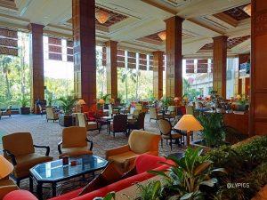 Lobby Lounge of Shangri-La Hotel Surabaya