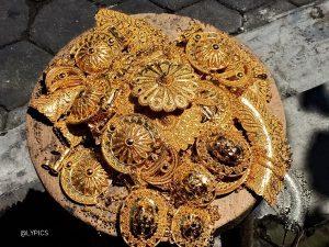Accessories at the Unique Triwindu Antique Market Ngarsopuro Solo Indonesia