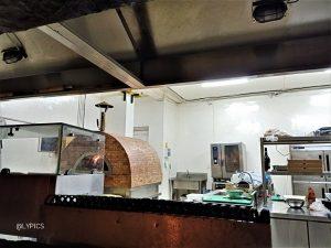 the kitchen of  Regina Ristorante Italiano Malang East Java