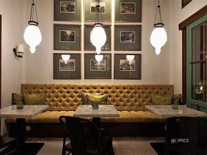Interior of Best Pizza at La Regina Italian Restaurant Malang