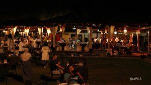 The dinner at Ramayana Ballet Prambanan Temple Yogyakarta