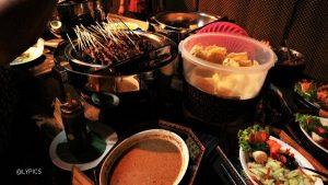 Dishes of Buffet at Ramayana Ballet Open Air Yogyakarta