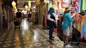 handicraft outlets at Pasar Seni Kuala Lumpur Malaysia